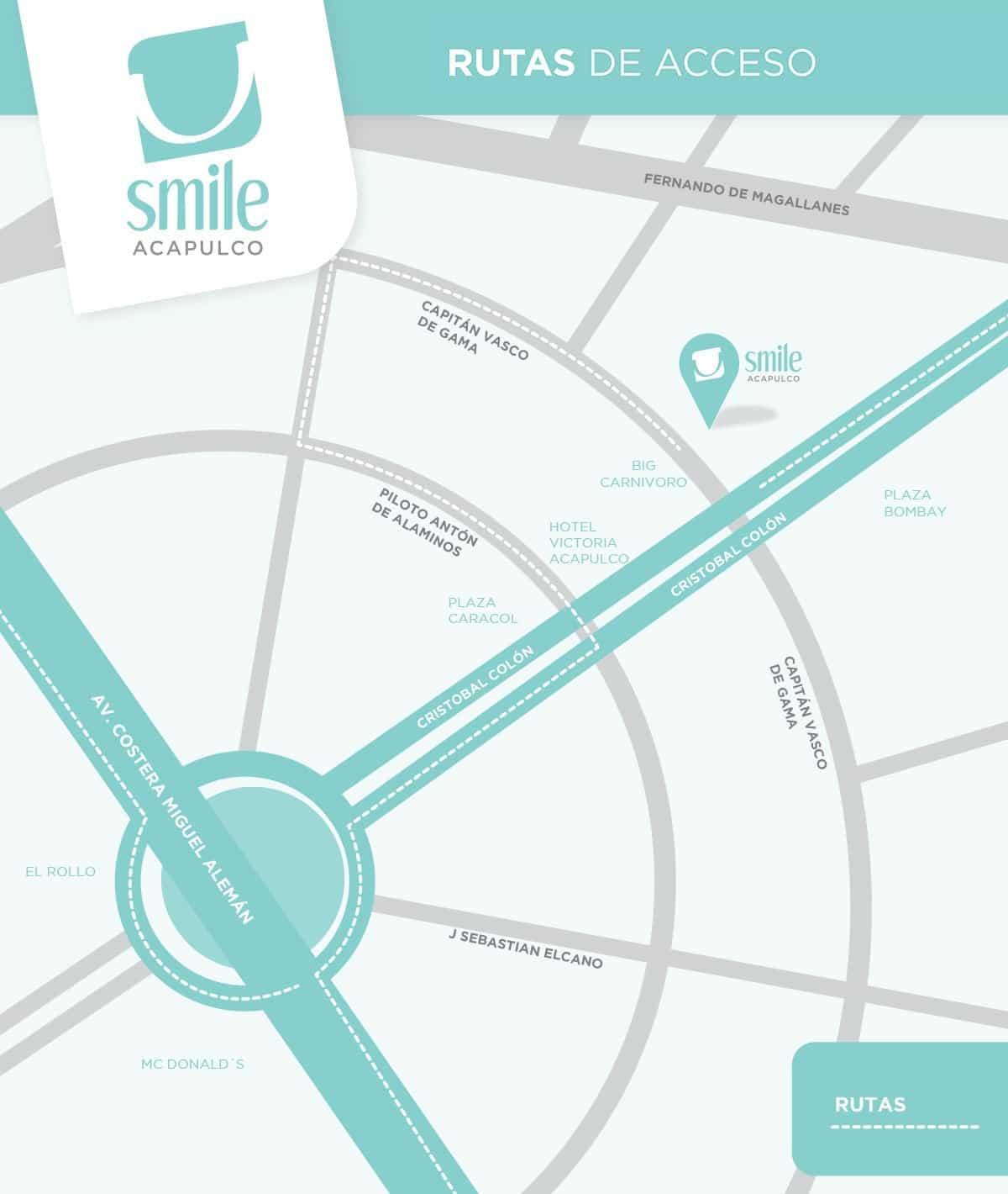 smile MAPA nuevo SMILE ACAPULCO